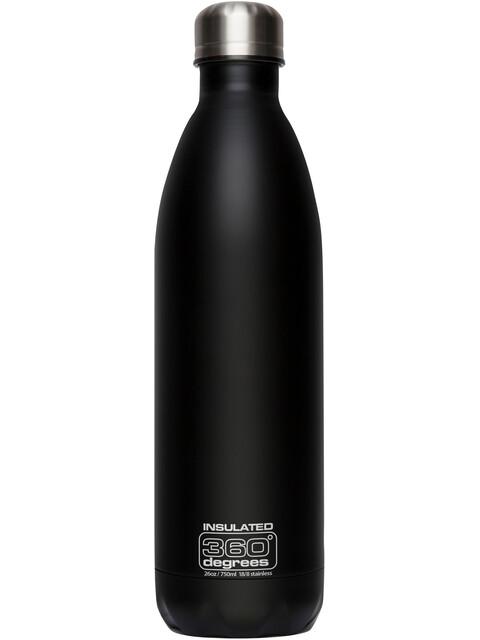 360° degrees Soda Insulated - Gourde - 750ml noir